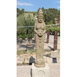 Lady Bouddha debout 2 m