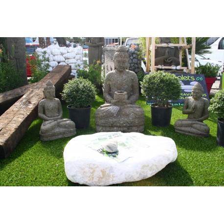 Bouddha Assis 60 cm et 1 m au milieu