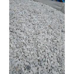 Gravillon Marbre Blanc Carrare